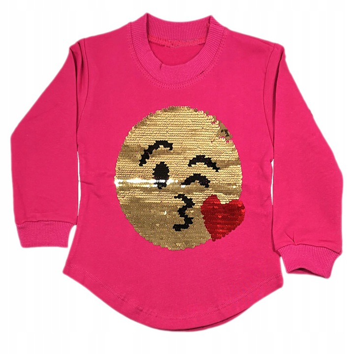Bluzka Bluza Tunika z cekinami 92 cm 7690048852 Dziecięce Odzież VH ZXYSVH-3