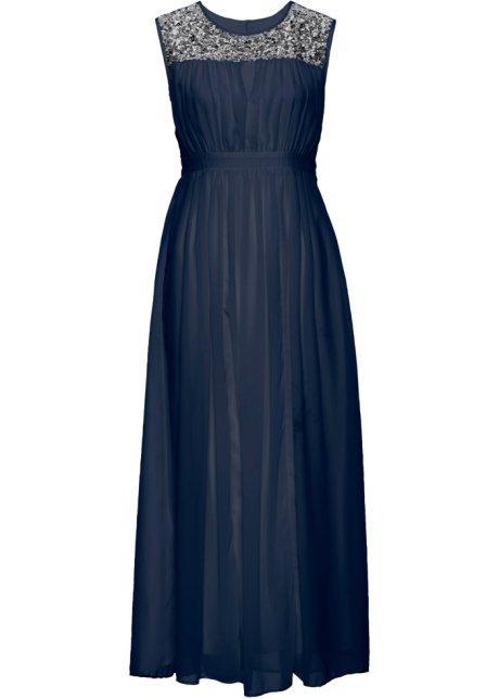 (25/706) BPC ROMANTYCZNA SUKNIA Z CEKINAMI r.40/42 7342035317 Odzież Damska Sukienki wieczorowe FA IEVEFA-3